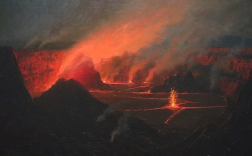 Lionel_Walden_Volcano_oil_on_canvas,_c._1880s,_s